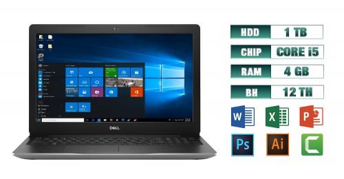Laptop Dell Inspiron 3580 i5 4GB HDD 1TB bạc | Vi Tính Miền Nam